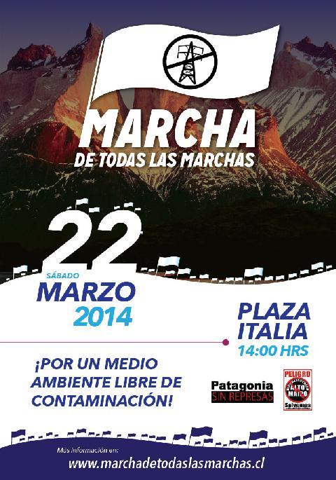 """El 22 de marzo se realizará la """"Marcha de todas las Marchas"""""""