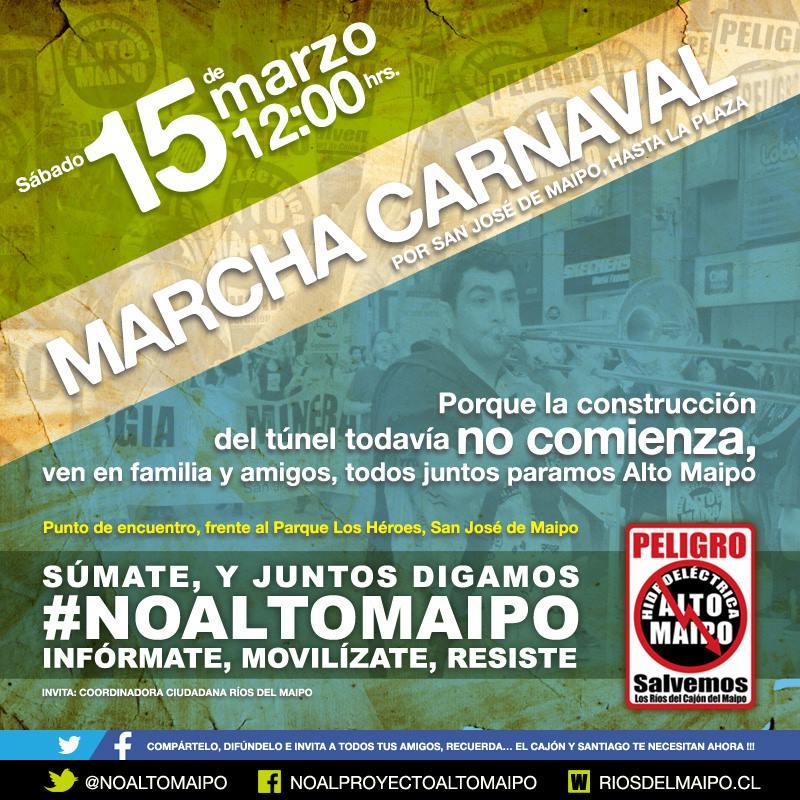 Marcha Carnaval No Alto Maipo