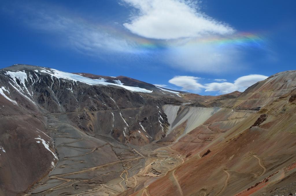 El 53% de los recursos mineros no explotados en Chile está en áreas cercanas a glaciares