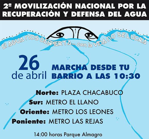 Movilización por  la Recuperación y Defensa del Agua