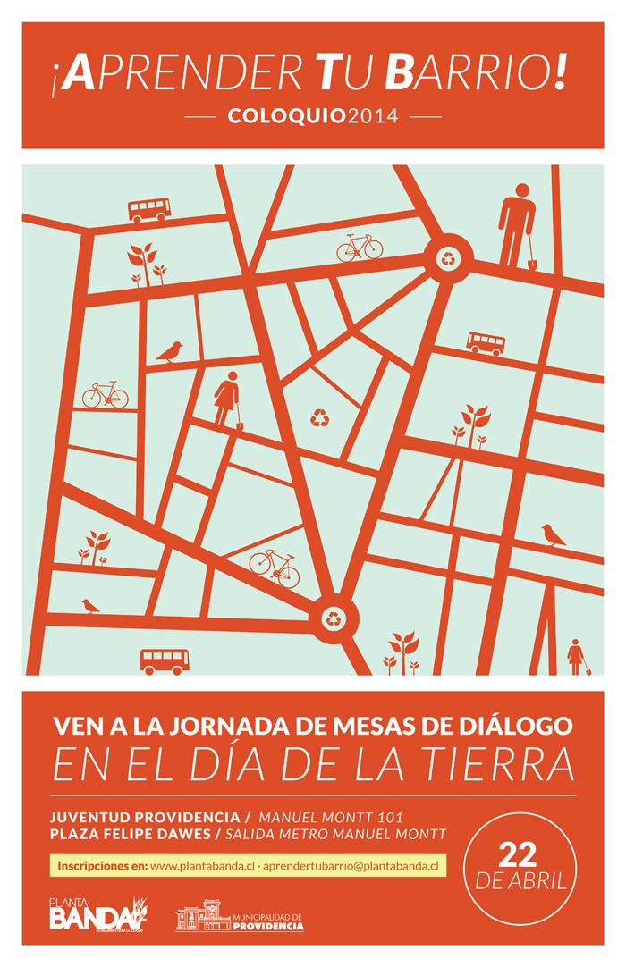 """En el Día de la Tierra Coloquio """"Aprender Tu Barrio"""""""