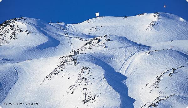 Más de un 80% de su tamaño ha perdido el glaciar Nevados de Chillán