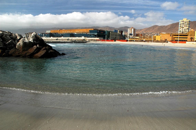 ANTOFAGASTA: Por contaminación con metales pesados sería cerrada playa artificial