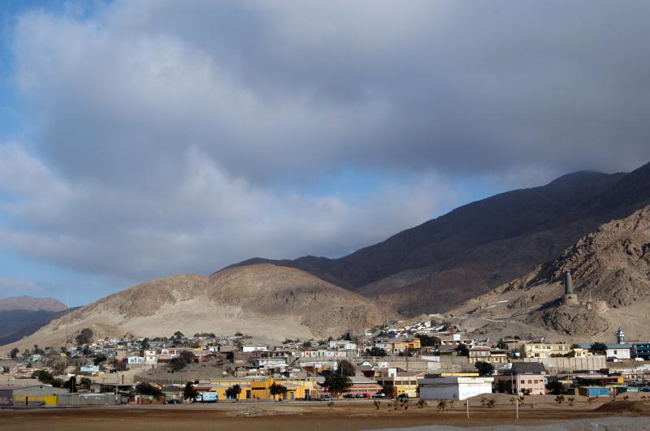 Verifican posibles daños por derrame de residuos mineros en Caleta Palito