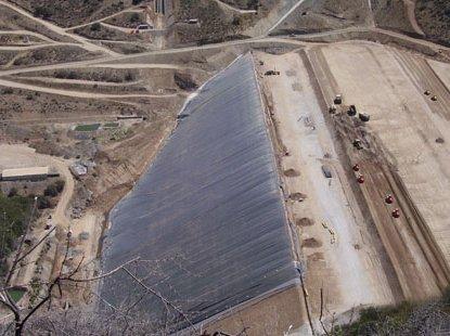 Preocupación en Caimanes por eventual colapso de tranque de relave El Mauro