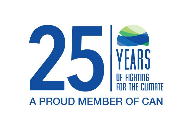 HOY la Red Climate Action Network celebra sus 25 años