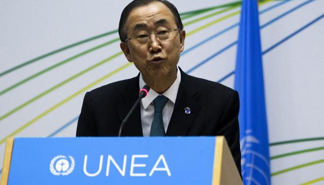 Ban Ki-moon advierte que el consumo actual de recursos es insostenible