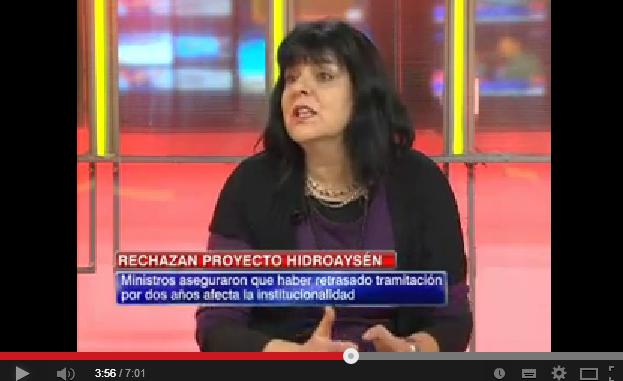 """Flavia Liberona: """"Chile no está en una crisis de generación de energía inmediata"""""""