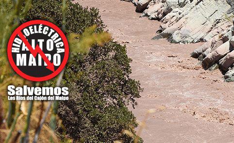 Marcha por el agua y los ríos del Maipo