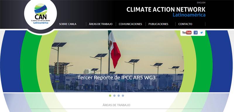 Red Climática CANLA lanza su nuevo sitio web