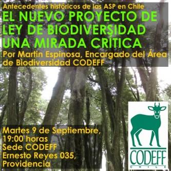 ECO Charla sobre proyecto de ley de Biodiversidad y Áreas Silvestres Protegidas