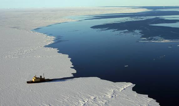 Aumentan los hielos marinos en las aguas antárticas