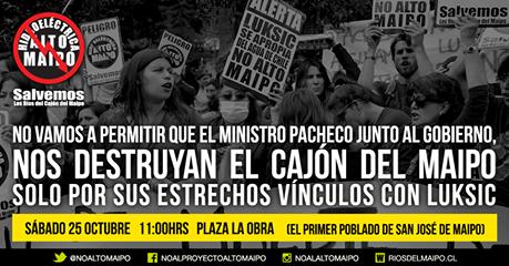 #NOALTOMAIPO Acto Ciudadano