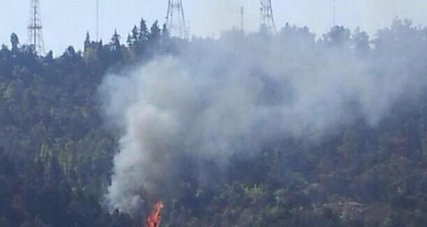 Sospechan intencionalidad en nuevo incendio que afectó al cerro San Cristóbal