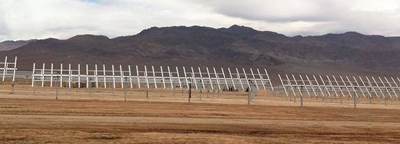 Bachelet inaugura primera planta de energía solar en Atacama