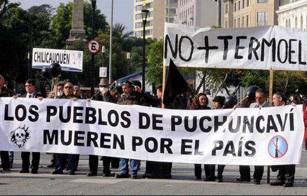 Marcha por situación ambiental de Puchuncaví