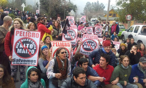 Las batallas legales que aún debe sortear el proyecto Alto Maipo