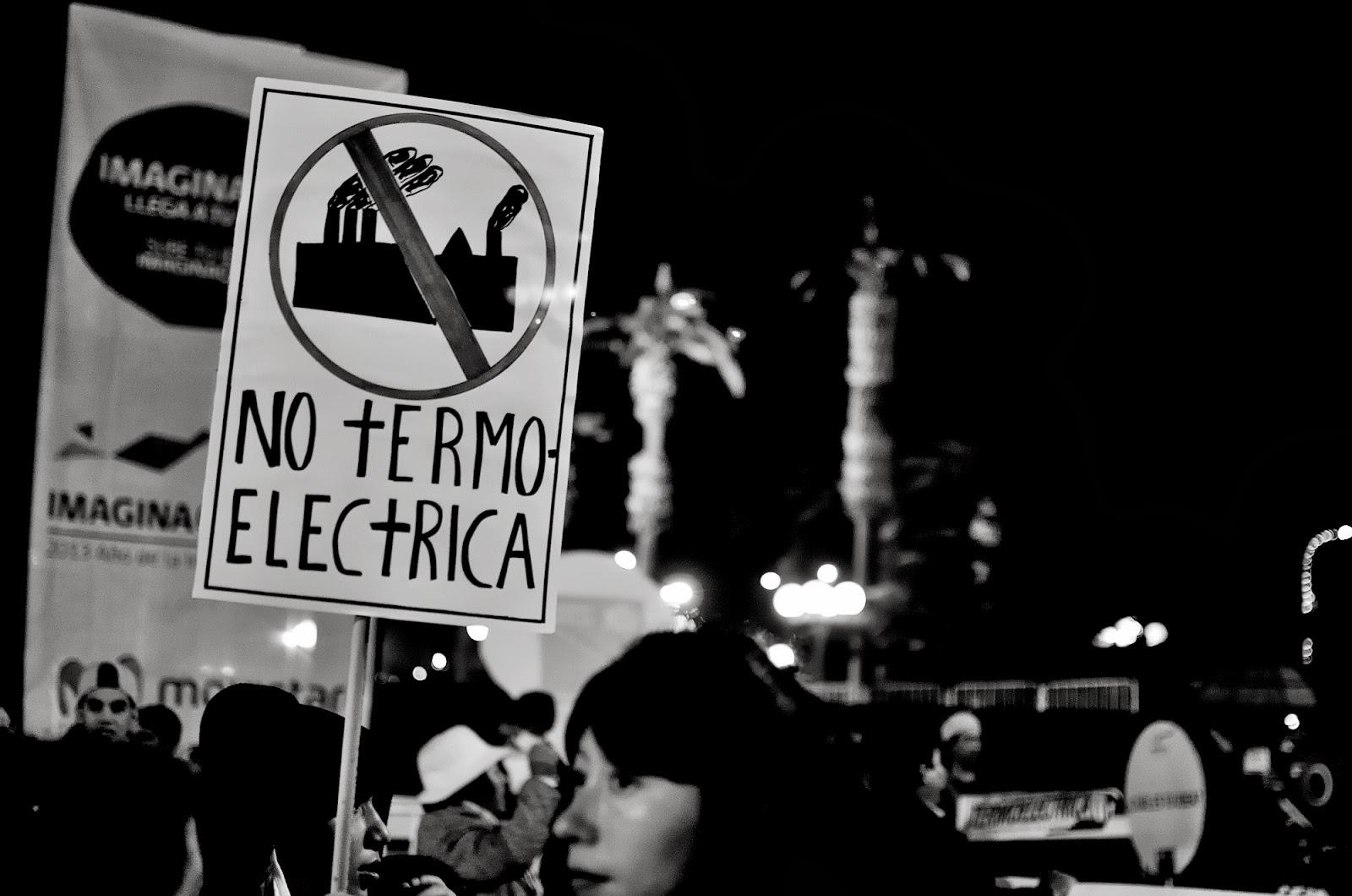 Ariqueños emplazan a Bachelet a revocar calificación ambiental de la Termoeléctrica en Cerro Chuño