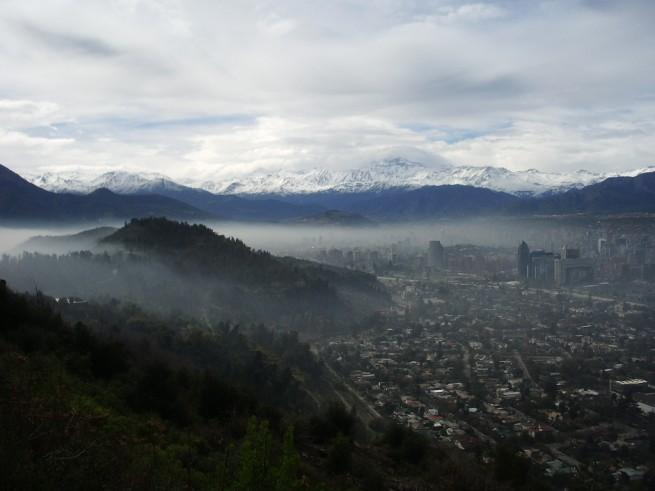 Santiago, Talca, Valdivia y Osorno suben sus episodios críticos de contaminación