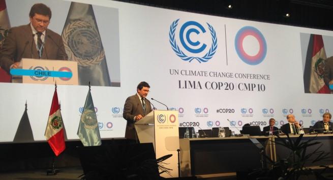 """Badenier en Lima: """"Esta cumbre sentará las bases de un nuevo régimen en materia de Cambio Climático"""""""