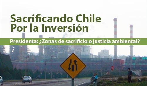 BALANCE AMBIENTAL TERRAM 2014:  Sacrificando Chile Por la Inversión, Presidenta: ¿Zonas de sacrificio o justicia ambiental?