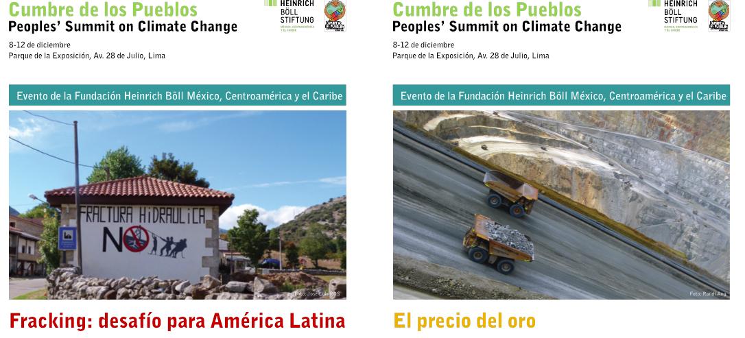 Actividades de Fundación Heinrich Boell en Cumbre de los Pueblos