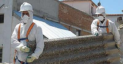 Coronel: Denuncian deficiente tratamiento de asbesto