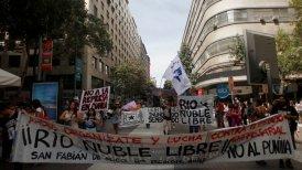 Grupos ambientalistas marcharon por el Día Mundial del Agua