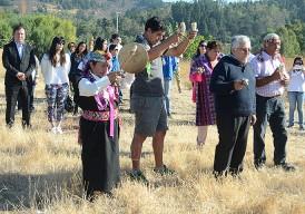 Con rogativa mapuche se celebró el Día Mundial del Agua