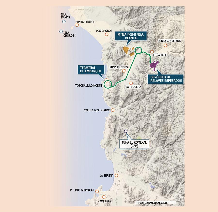 Familia Délano analiza fórmulas para desprenderse de proyecto minero de hierro Dominga