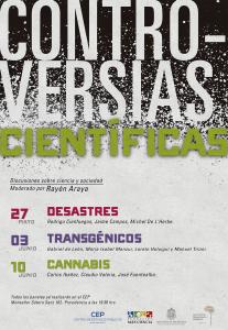 Conversatorio: Controversias Científicas, discusiones sobre Ciencia y Sociedad, Transgénicos