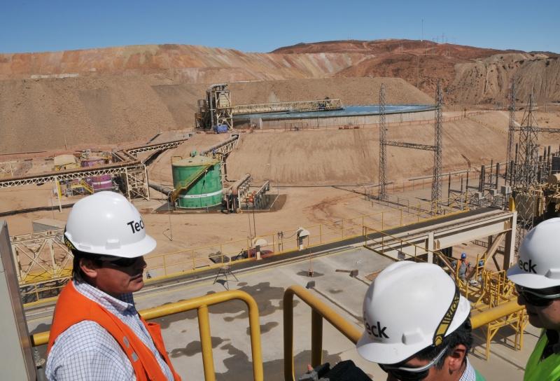 SMA formula cargos a minera Teck Carmen de Andacollo