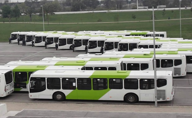 Buses del Transantiago deberán cumplir con la norma Euro VI en 2017