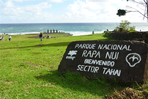 Parque Rapa Nui pasa a manos de pascuenses