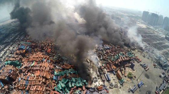 El cómo y por qué de la explosión en Tianjin es aún una incógnita