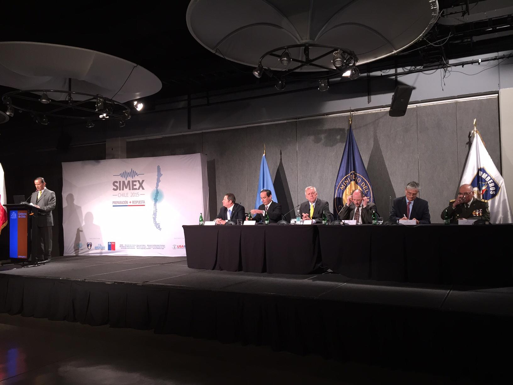 Autoridades inauguraron el ejercicio SIMEX 2015