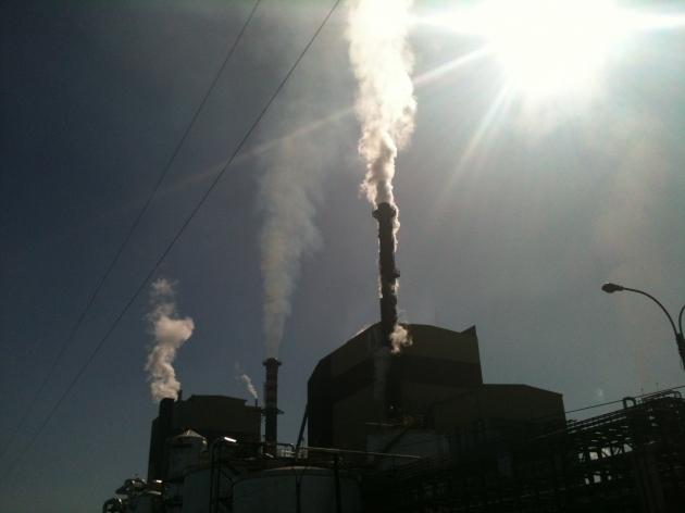 Vecinos exigen compensación a CMPC por nueva caldera de biomasa