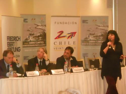 """""""Para Chile, el cambio climático es una realidad"""" Seminario Estado de situación frente a la COP 21"""