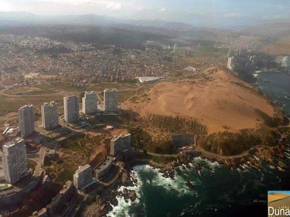 Ambientalistas rechazan millonaria demanda de inmobiliaria Reconsa por dunas de Concón
