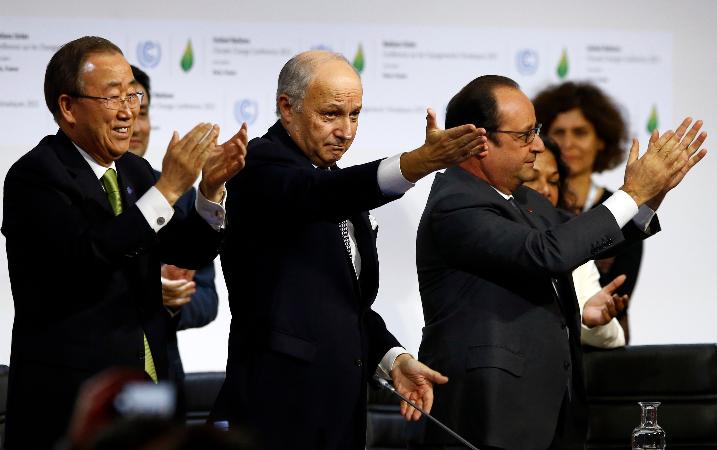 Congreso deberá visar acuerdo climático de París