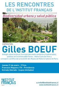 Conferencia: Biodiversidad Urbana y Salud Pública