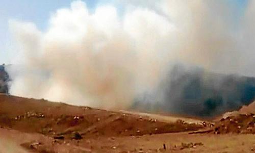 La extinción total del incendio en el relleno sanitario Santa Marta podría durar meses
