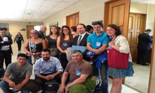 Senadores prometieron visitar Puelo para conocer en profundidad el conflicto