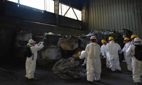 Tribunal Ambiental inspeccionó instalaciones de Antofagasta Terminal Internacional