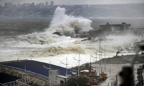 Cambio climático y marejadas: un fenómeno que llegó para quedarse en la Región de Valparaíso