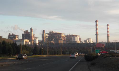 Ministra de Minería visitó proyectos ambientales de Codelco Ventanas
