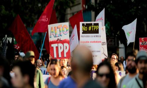 ¡Chile se levanta! Jornada de Movilización Internacional #NoTPP