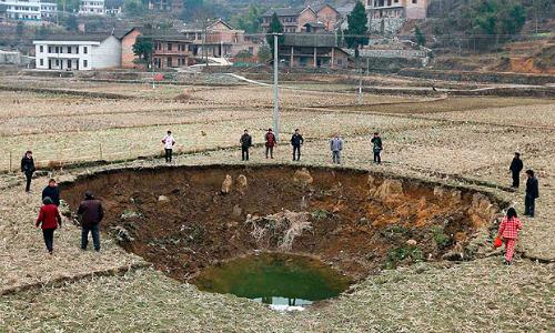 El 80% del agua subterránea de China está contaminada por el uso de agrotóxicos