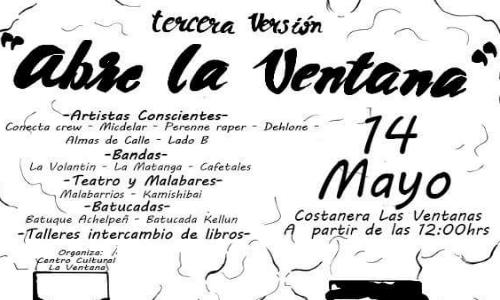 """III Versión de """"Abre la Ventana"""" en Ventanas"""