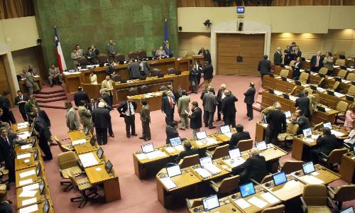 Cámara de Diputados suspende sesión especial por marea roja debido a inasistencia de ministros